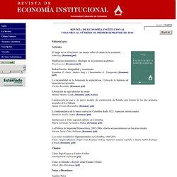 Revista de Economía Institucional