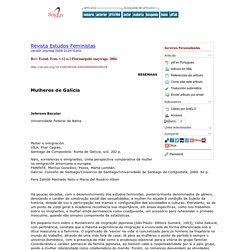 Revista Estudos Feministas - Mulheres de Galícia