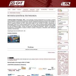 Revista Gestão & Tecnologia
