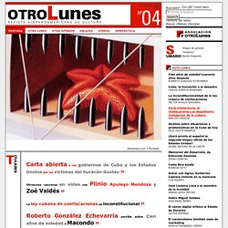 Otro lunes >> Revista Hispanoamericana de Cultura