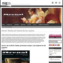 Arenal. Revista de historia de las mujeres