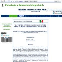 REVISTA INTERNACIONAL DE PSICOLO