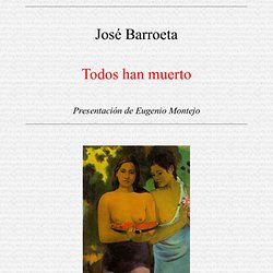 Tinta China, Revista de Literatura: José Barroeta