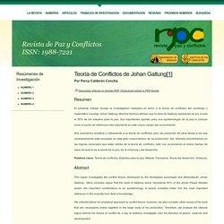 Revista de Paz y Conflictos
