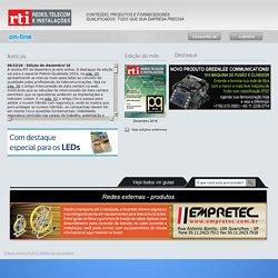 Revista RTI online Redes, telecom e instalações