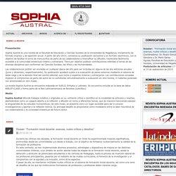 Revista Sophia Austral