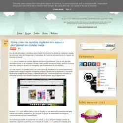 Cómo crear de revistas digitales con aspecto profesional sin instalar nada