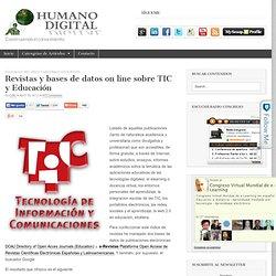 Revistas y bases de datos on line sobre TIC y Educación