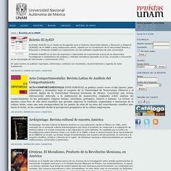 Revistas de la UNAM