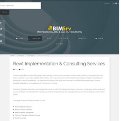 Revit Consulting - BimSrv