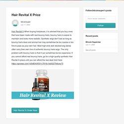 Hair Revital X Price - bitcoinsuper