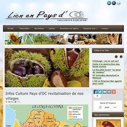 Infos Pays d'OC revitalisation de nos villages