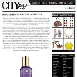 Skin Revitalization with Estée Lauder's CP+R