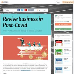 Revive business in Post-Covid