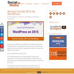 Revivez l'année 2015 de WordPress