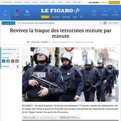 Revivez la traque des terroristes minute par minute