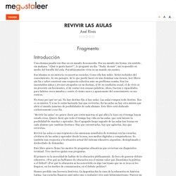 Revivir las aulas - Primer capítulo - megustaleer