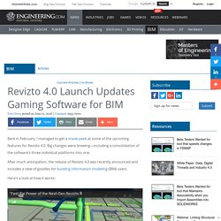Revizto 4.0 Launch Updates Gaming Software for BIM