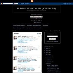 Révolisation Actu (#RevActu): LA VRAIE DÉFINITION DE DÉMOCRATIE EST : POUVOIR DE 5% sur 95% (un article par Yanick Toutain sur Mediapart-blogs)