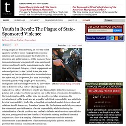 Youth in Revolt: The Plague of State-Sponsored Violence