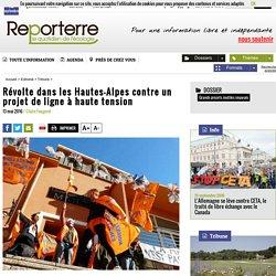 Révolte dans les Hautes-Alpes contre un projet de ligne à haute tension