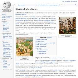 Révolte des Maillotins
