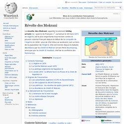 Révolte des Mokrani