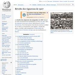 Révolte des vignerons de 1907
