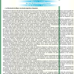 La Revoluci n de Mayo: una deuda argentina a Napole n