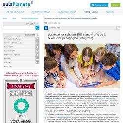 Los expertos señalan 2017 como el año de la revolución pedagógica -aulaPlaneta