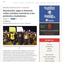 Revolución, apps e Internet: redes sociales convocan a las protestas ciudadanas