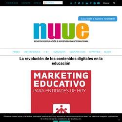 La revolución de los contenidos digitales en la educación Revista NUVE