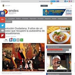 Revolución Ciudadana, 9 años de un proceso que recuperó la autoestima de los ecuatorianos
