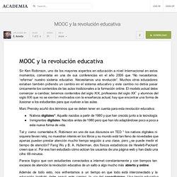 MOOC y la revolución educativa