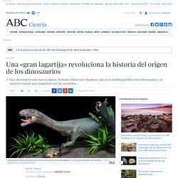 Una «gran lagartija» revoluciona la historia del origen de los dinosaurios