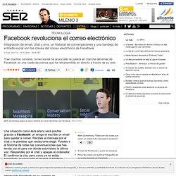Facebook revoluciona el correo electrónico en CADENASER.com