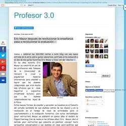 Vuelve la serie gurús en educación:Eric Mazur después de revolucionar la enseñanza pasa a revolucionar la evaluación