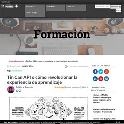 Tin Can API: cómo revolucionar la experiencia de aprendizaje