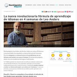 La nueva revolucionaria fórmula de aprendizaje de idiomas en 4 semanas de Leo Anders.