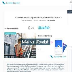 N26 ou Revolut : quelle banque mobile choisir ?