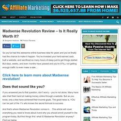 Madsense Revolution Review – Fastest Method to make Money Online!