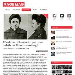 Révolution allemande : pourquoi ont-ils tué Rosa Luxemburg ?
