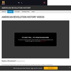 Really a Revolution? Video - Boston Massacre