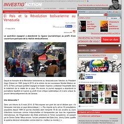 El País et la Révolution bolivarienne au Venezuela