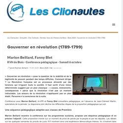 Gouverner en révolution (1789-1799)
