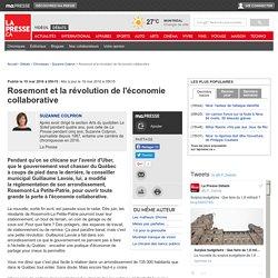 Rosemont et la révolution de l'économie collaborative