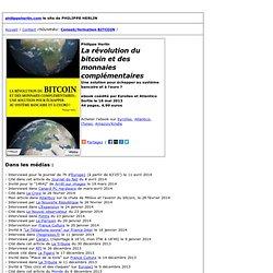 Philippe Herlin La révolution du bitcoin et des monnaies complémentaires