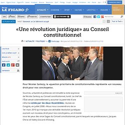 Politique : «Une révolution juridique» chez les Sages