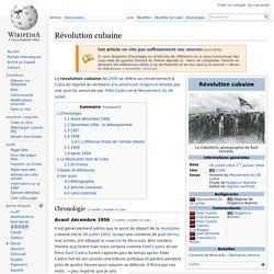 Révolution cubaine