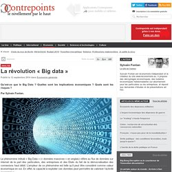 La révolution « Big data »